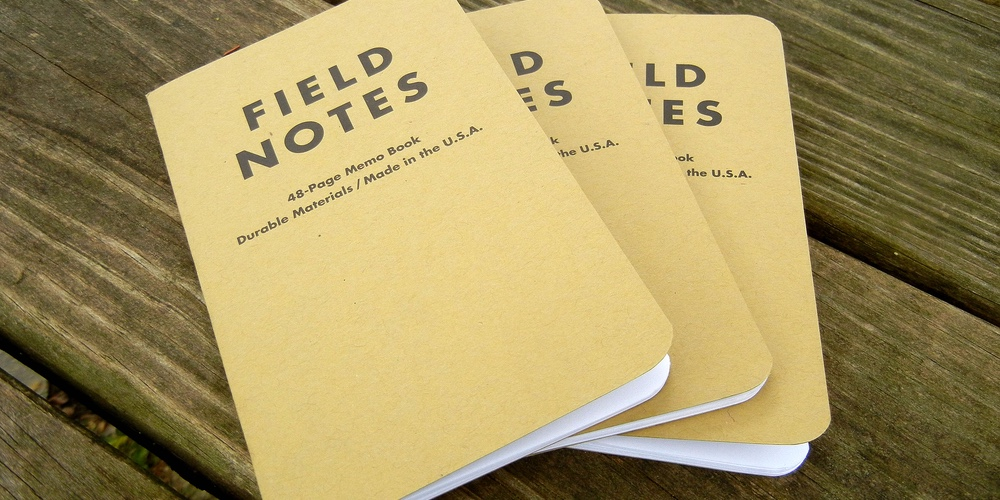 The original Field Notes