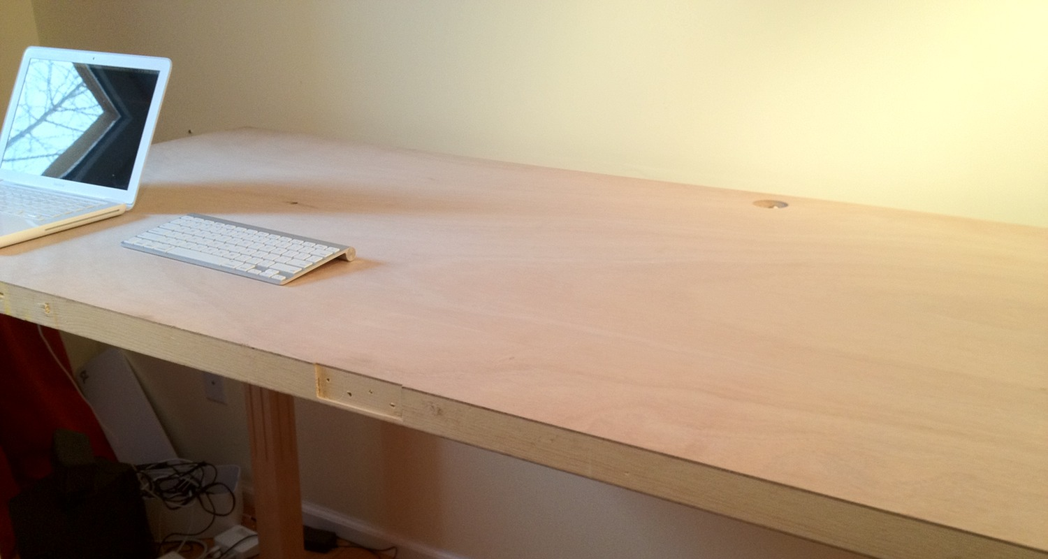 Diy Wooden Desk ~ Woodwork diy wood desk pdf plans