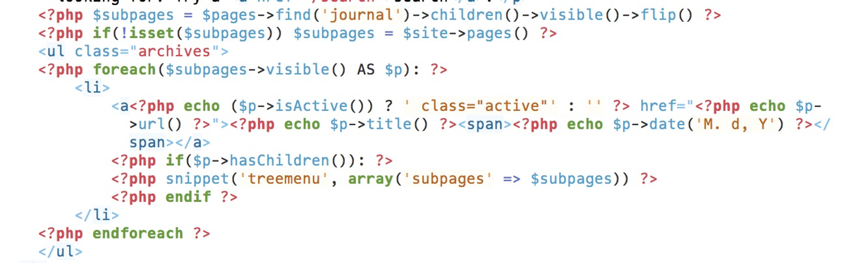Archives code
