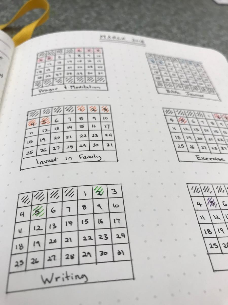 Nothing beats the look of a nicely filled in grid